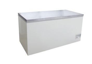 Tiefkühltruhe mit Edelstahldeckel BD 390 F